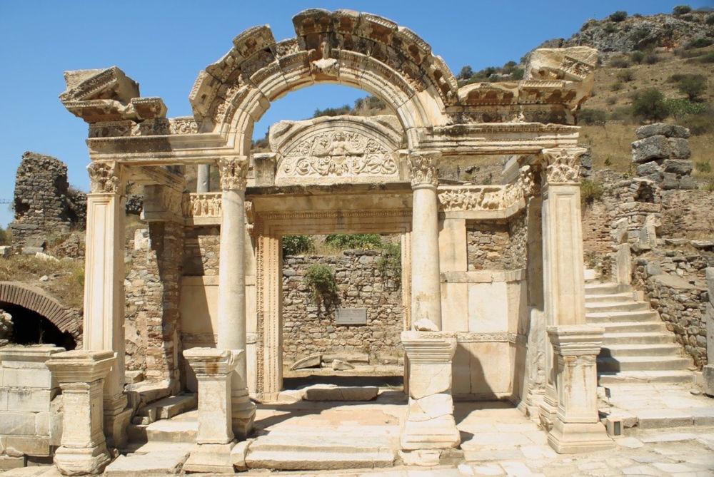 temple of hadrian ephesus