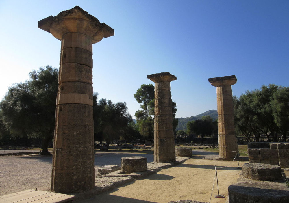 Temple of Hera at Olympia