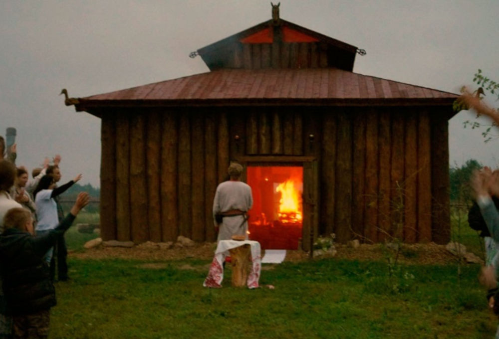 Temple of Svarozhich's Fire in Kaluga Oblast
