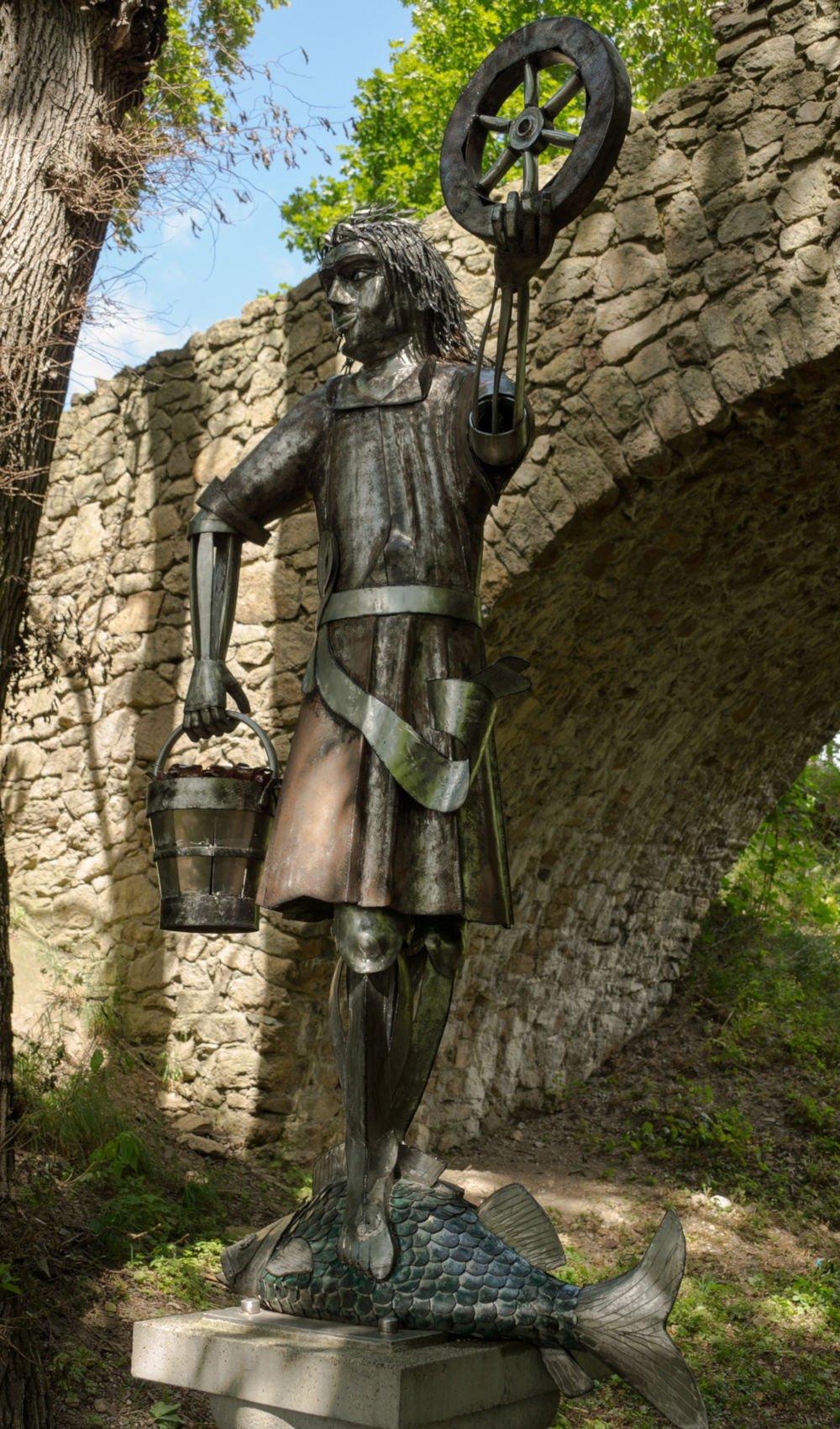 Krodo Statue in Bad Harzburg