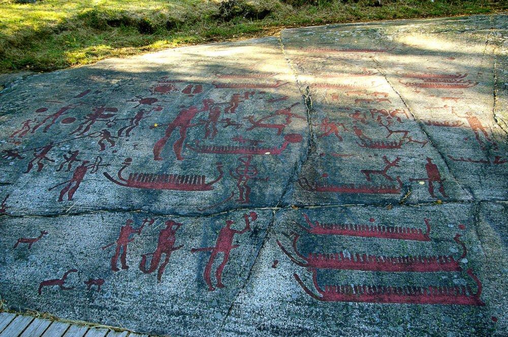 Petroglyphs of Fossum