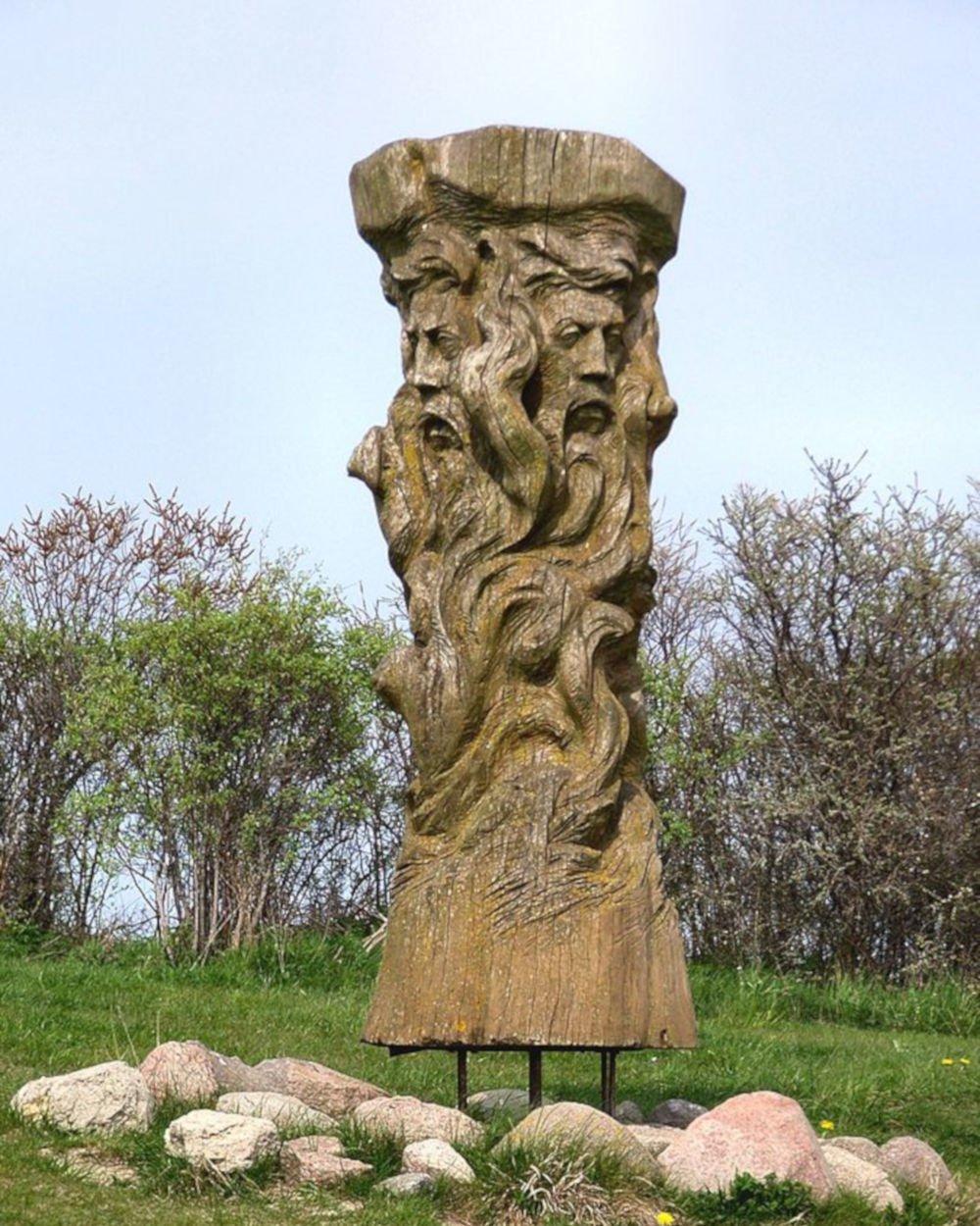 svantevit statue on Rügen