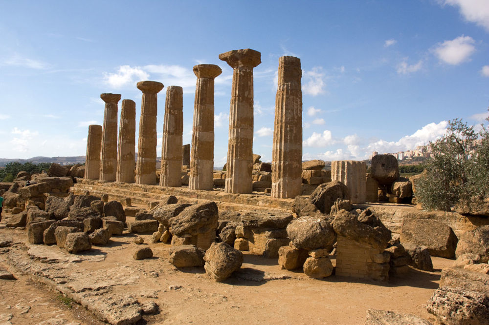 Temple of Heracles in Agrigento