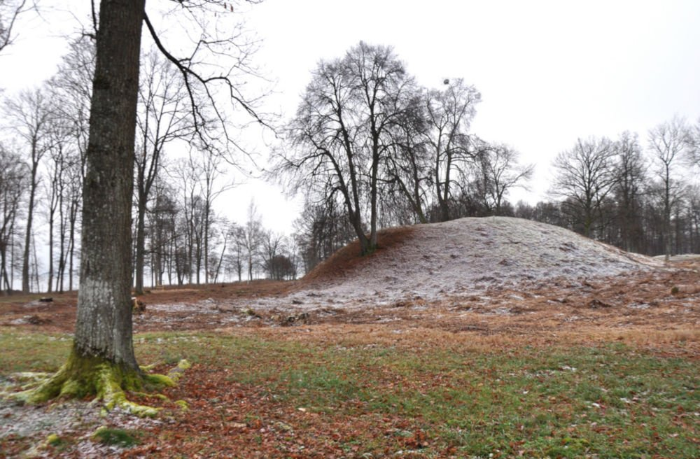 Borre burial mounds