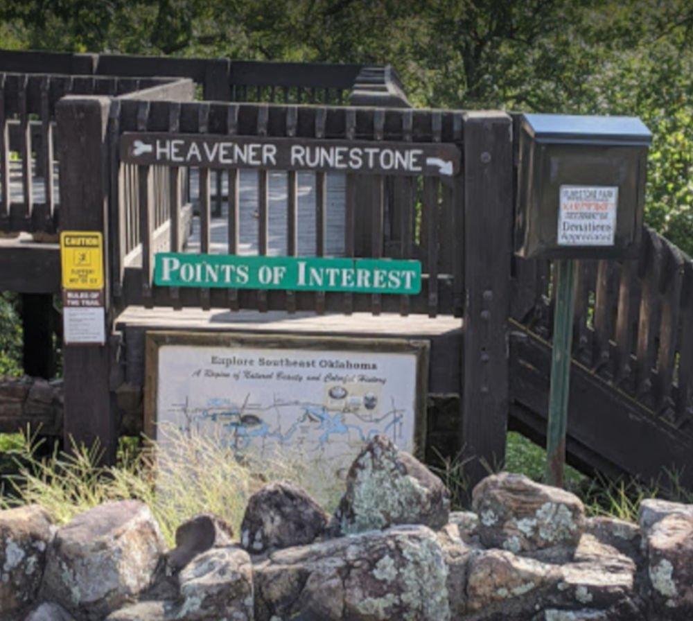 heavener runestone park