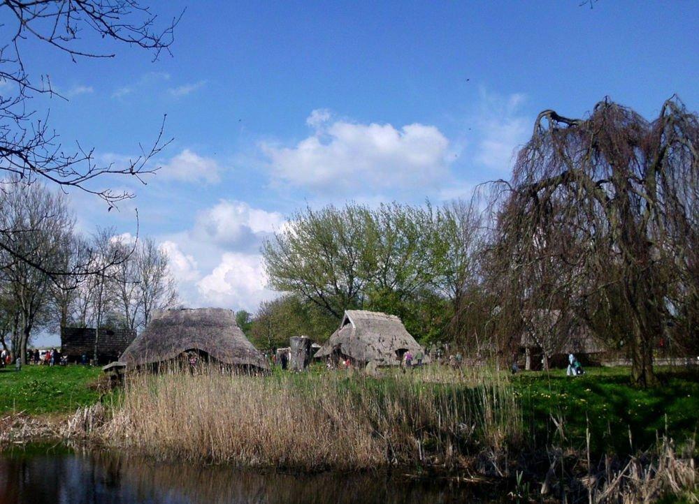 Passentin Slavic village