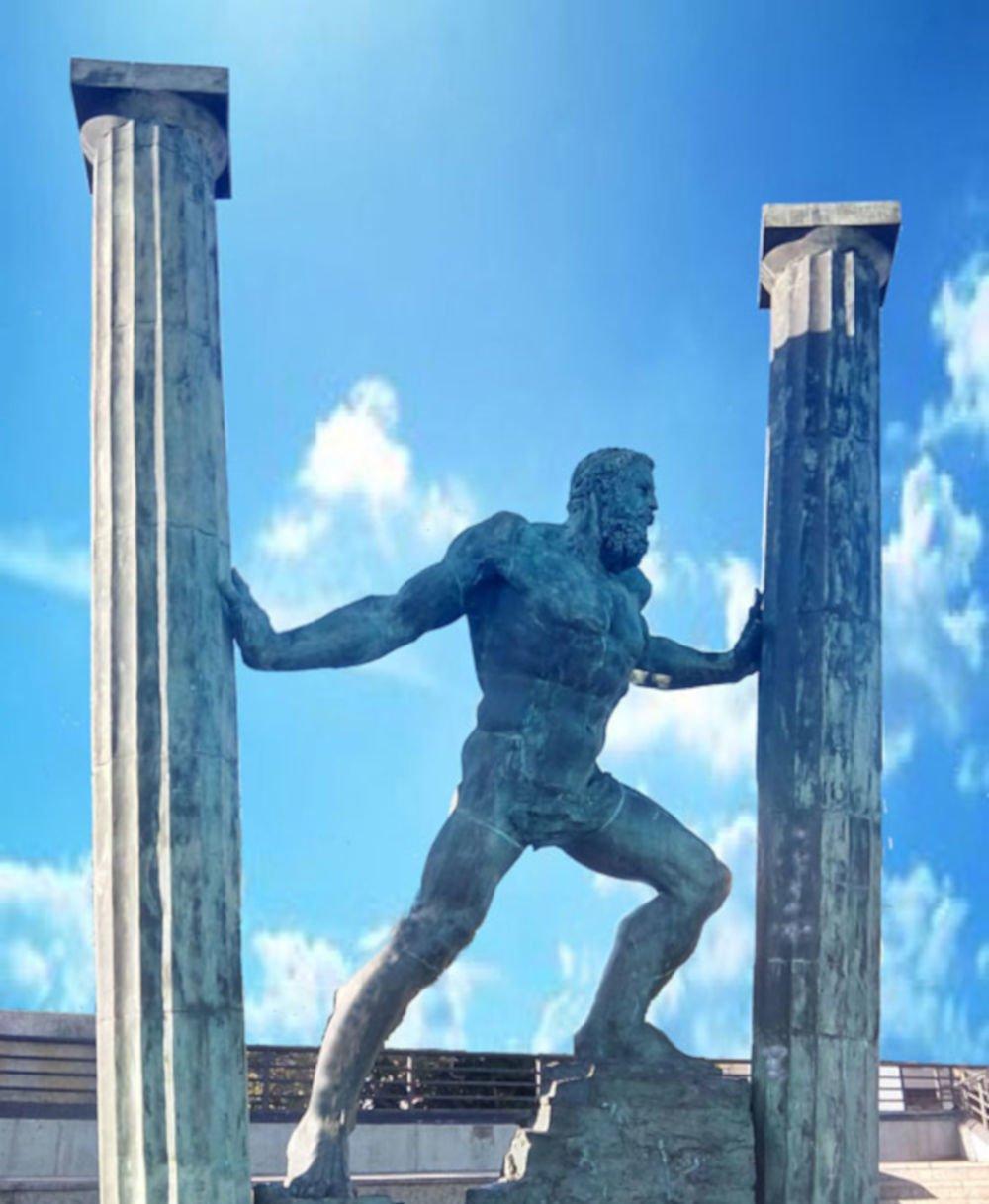 Pillars of Hercules at Ceuta