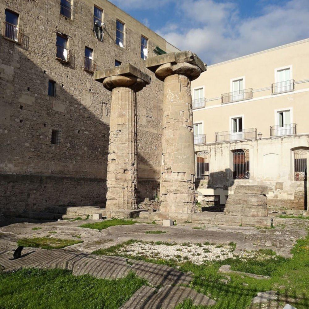 Temple of Poseidon in Tarente