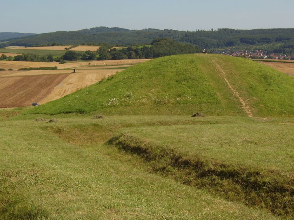 glauberg burial mound