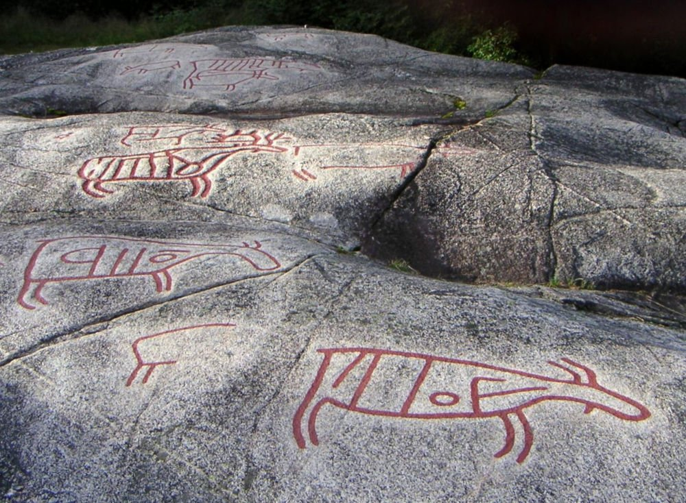 Møllerstufossen rock carvings