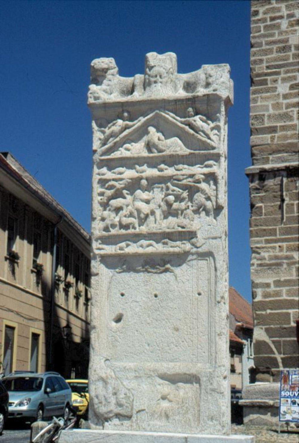 Orpheus monument in Ptuj