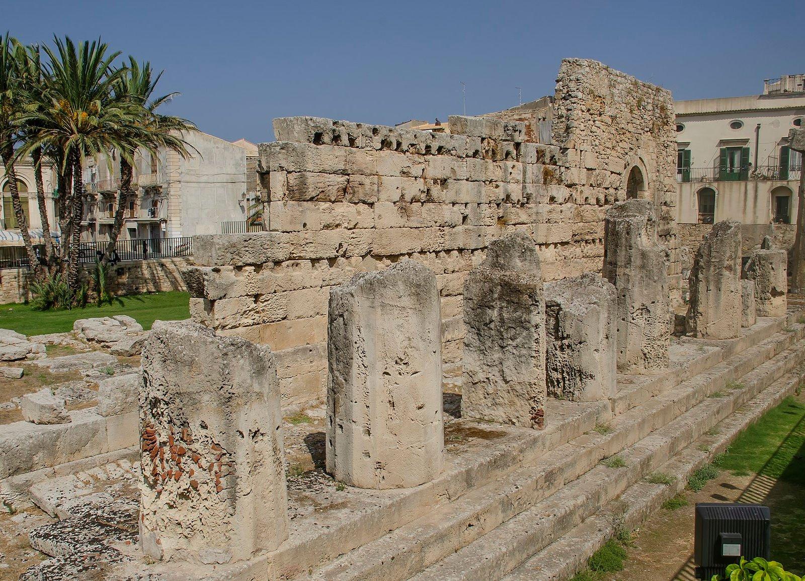 Temple of Apollo in Syracuse
