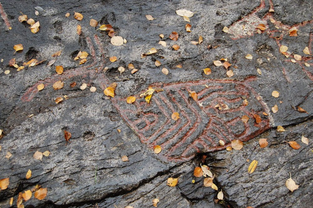 Tennes rock carvings