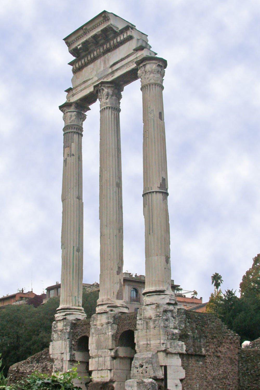 castor temple