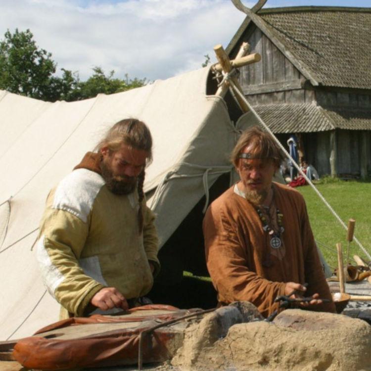 Viking village Trelleborg