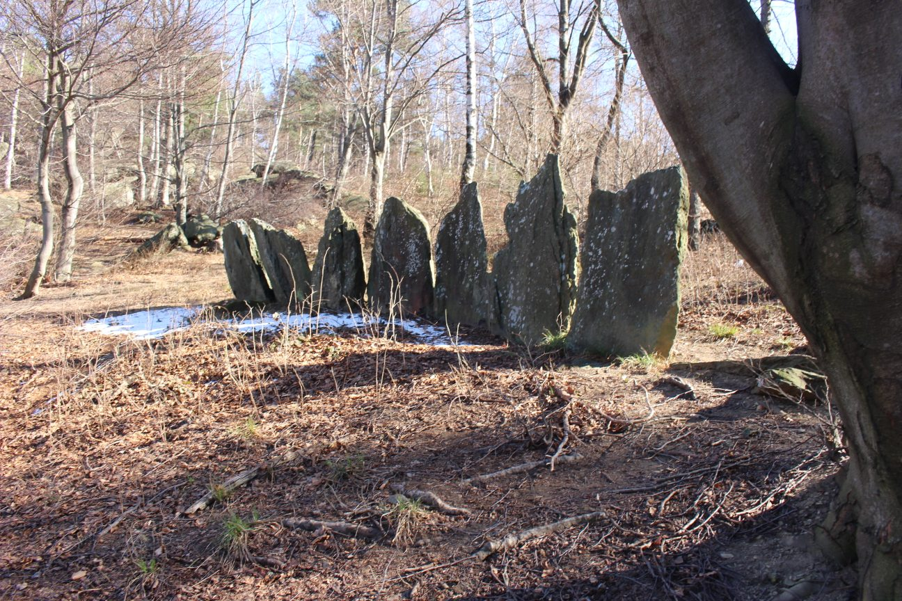 Cromlech on the Monte Ciabergia