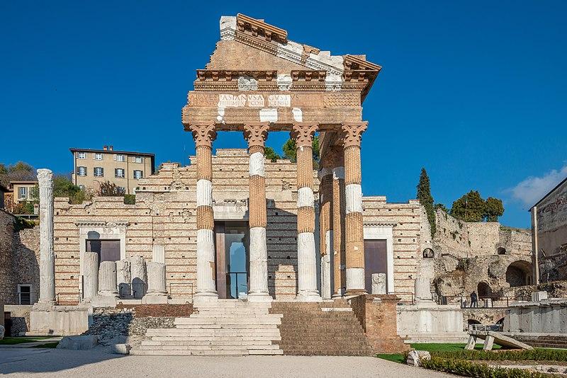 Capitolium and republican sanctuary of Brescia
