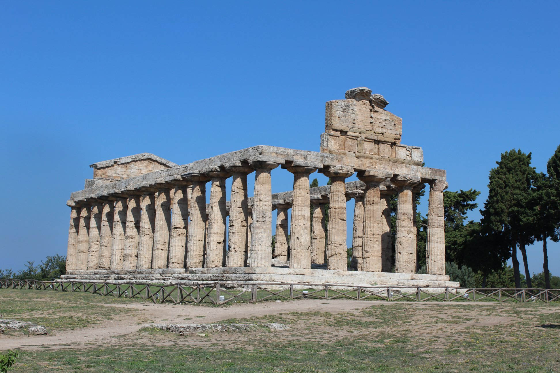Temple of Athena in Paestum (SA)